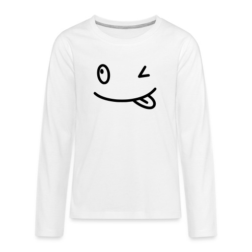 Smiley shirt - Maglietta Premium a manica lunga per teenager
