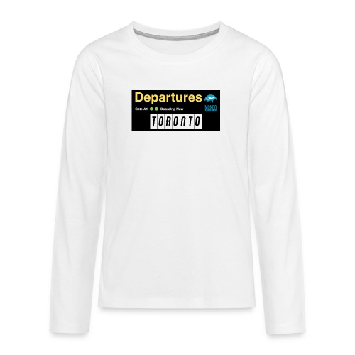 TORONTO png - Maglietta Premium a manica lunga per teenager