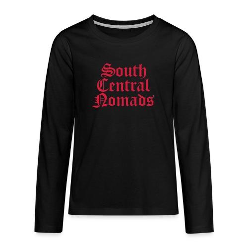 South Central Nomads - Teenager Premium Langarmshirt