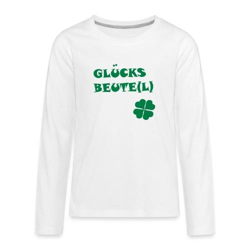 Glücksbeutel - Teenager Premium Langarmshirt