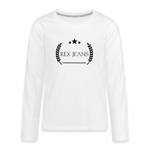 Rex Jeans - Teenager Premium Langarmshirt
