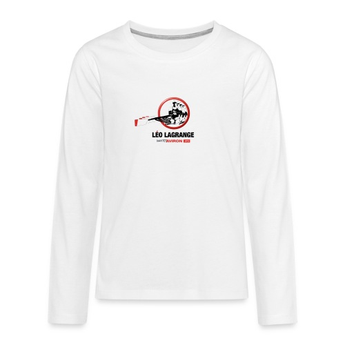 Léo Lagrange Nantes Aviron - T-shirt manches longues Premium Ado
