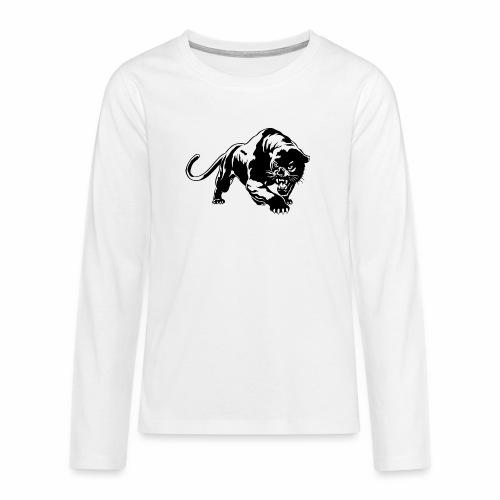 Black Panthère 🐆 édition - T-shirt manches longues Premium Ado