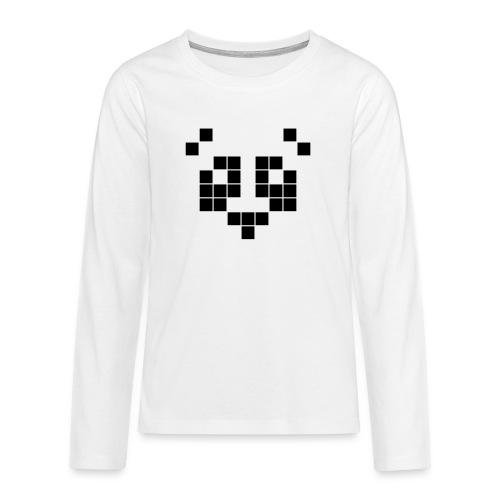 panda - T-shirt manches longues Premium Ado