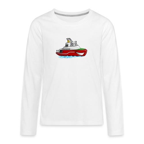 Boaty McBoatface - Teenagers' Premium Longsleeve Shirt