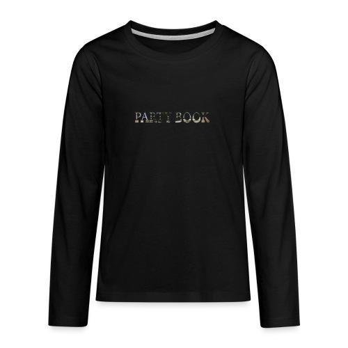 PartyBook - Teenager Premium Langarmshirt