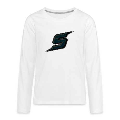 Stripo Logo - Teenagers' Premium Longsleeve Shirt