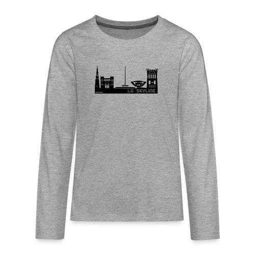 Lu skyline de Terni - Maglietta Premium a manica lunga per teenager