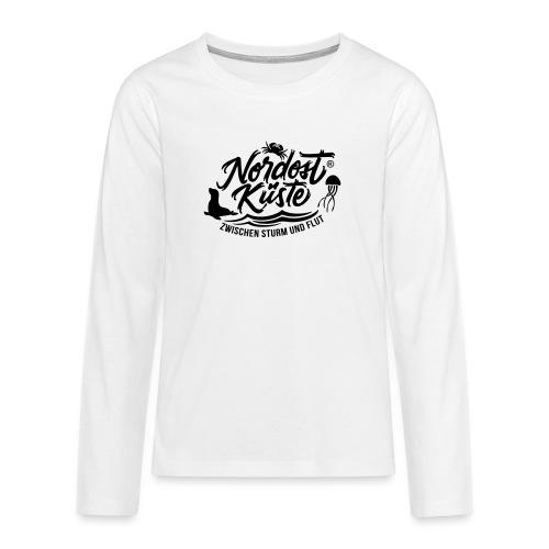 Nordost Küste Logo #11 - Teenager Premium Langarmshirt
