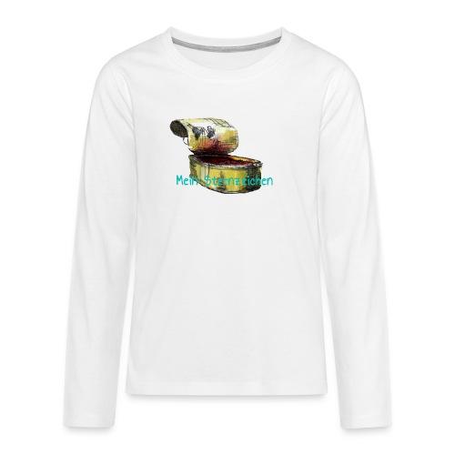 Mein Sternzeichen... Fische - Teenager Premium Langarmshirt