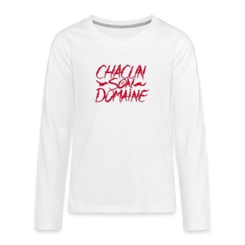 chacun - T-shirt manches longues Premium Ado