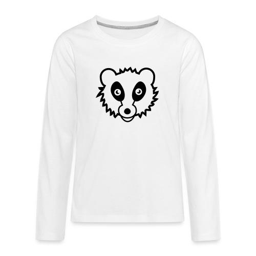 Waschbär - Teenager Premium Langarmshirt