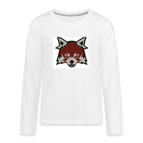 Red panda merch - Teenagers' Premium Longsleeve Shirt
