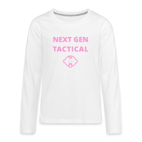 Tactical Baby Girl - Teenager Premium shirt met lange mouwen