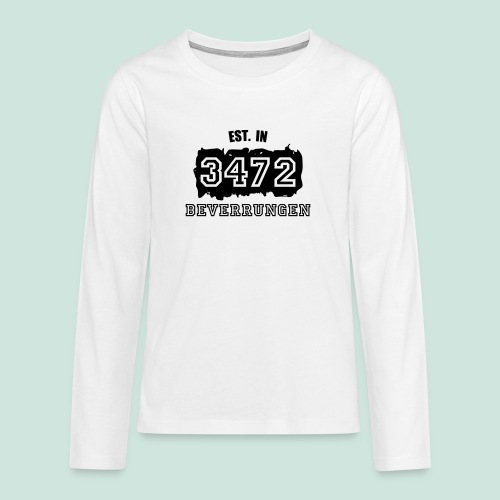 Established 3472 Beverungen - Teenager Premium Langarmshirt