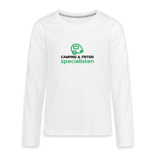 Camping & Fritidsspecialisten - Långärmad premium T-shirt tonåring