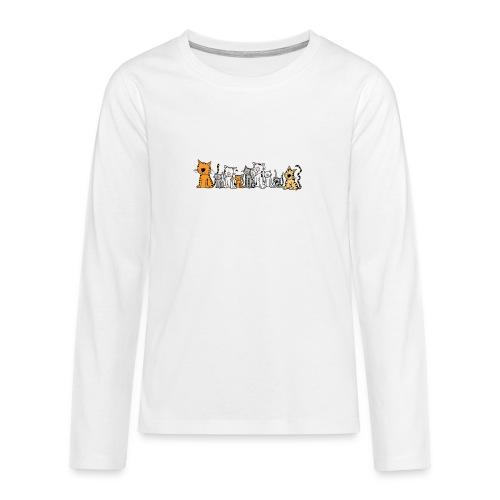 Cats & Cats - Teenager Premium shirt met lange mouwen