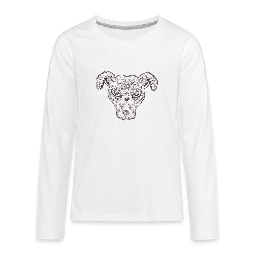 Sugar Dog - Teenager Premium Langarmshirt