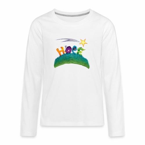 Hope - Teenagers' Premium Longsleeve Shirt