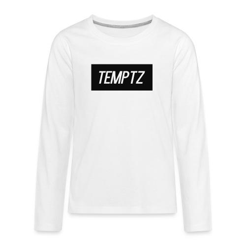 TempTz Orignial Hoodie Design - Teenagers' Premium Longsleeve Shirt
