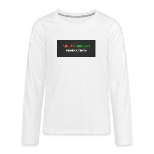 AIDEN_CORRIGAN_PRODUCTIONS - Teenagers' Premium Longsleeve Shirt