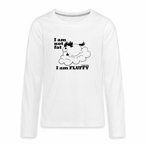 fluffy_baby - Teenager Premium Langarmshirt