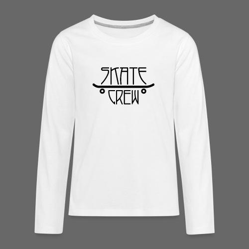 Skatecrew byKane, main Logo - Teenager Premium Langarmshirt
