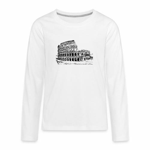 Kolosseum - Teenager Premium Langarmshirt