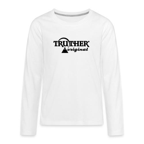 Truther - Teenager Premium Langarmshirt