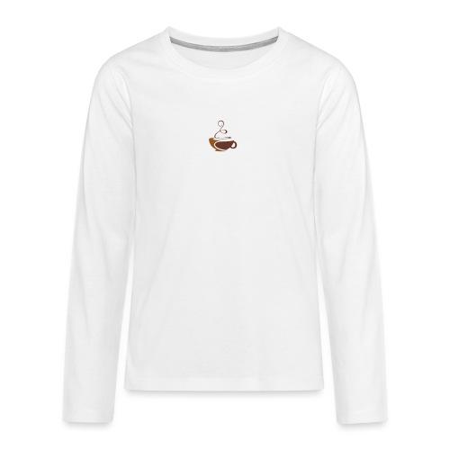 coffee - Teenager Premium Langarmshirt