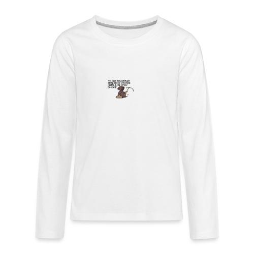 Comicità - Maglietta Premium a manica lunga per teenager