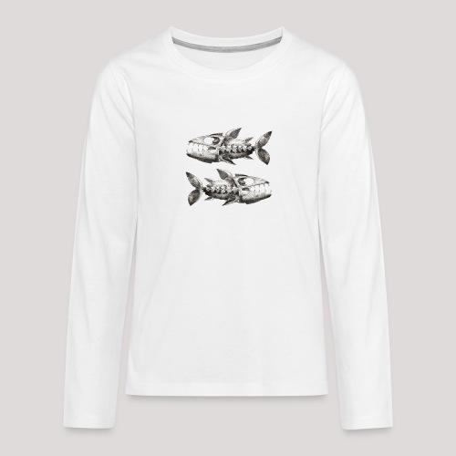 FishEtching - Teenagers' Premium Longsleeve Shirt