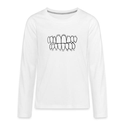 TEETH! - Teenagers' Premium Longsleeve Shirt