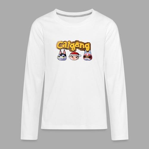 Animal Crossing CatGang - Teenager Premium Langarmshirt