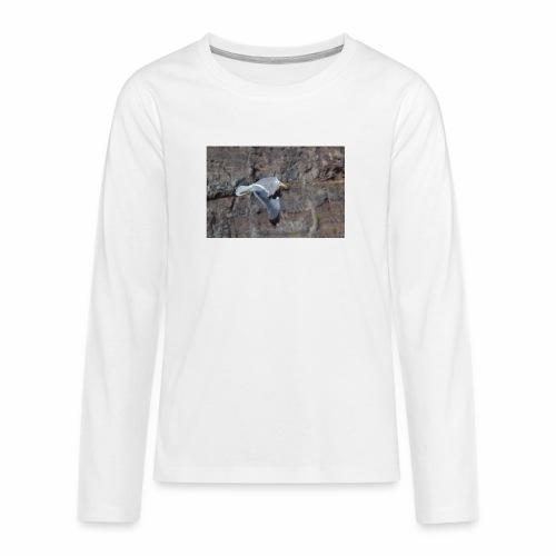 Möwe - Teenager Premium Langarmshirt