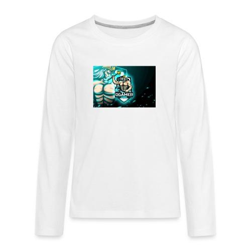 8251831F EA3A 4726 A475 A5510CDECB5A - Långärmad premium T-shirt tonåring