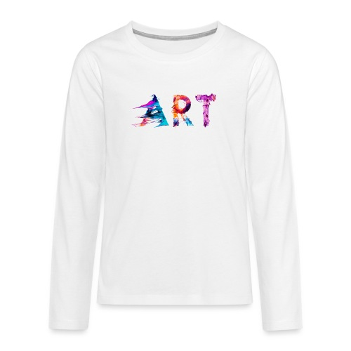 Art - T-shirt manches longues Premium Ado