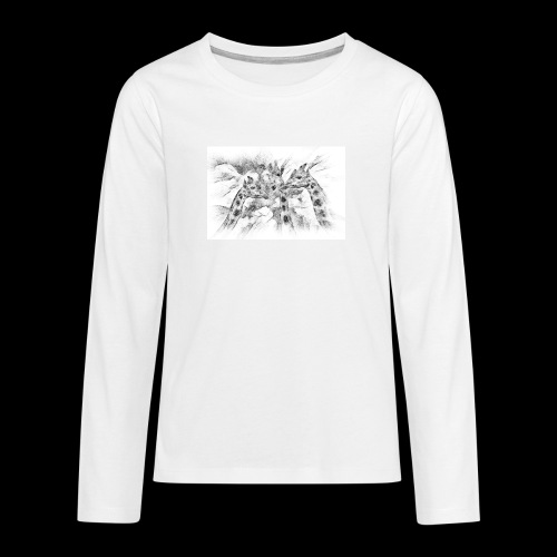 les girafes bavardes - T-shirt manches longues Premium Ado