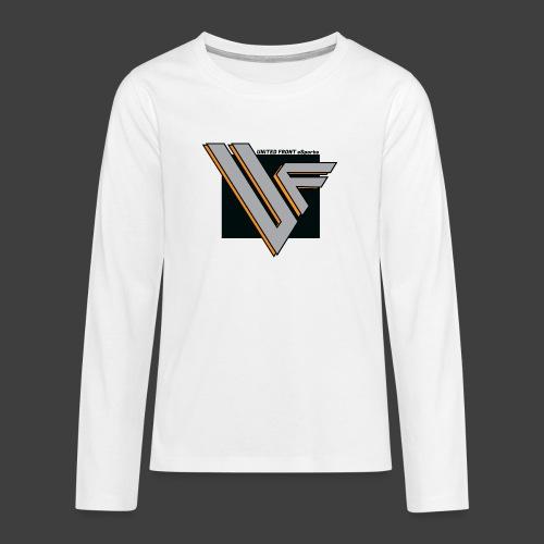 United Front - Teinien premium pitkähihainen t-paita