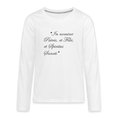 gebed nieuw png - Teenager Premium shirt met lange mouwen