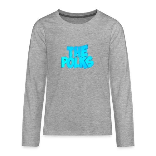 THEPolks - Camiseta de manga larga premium adolescente