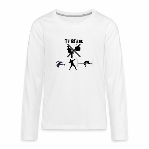 TV Star - Teenager Premium Langarmshirt