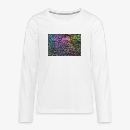 Regenbogenwand - Teenager Premium Langarmshirt