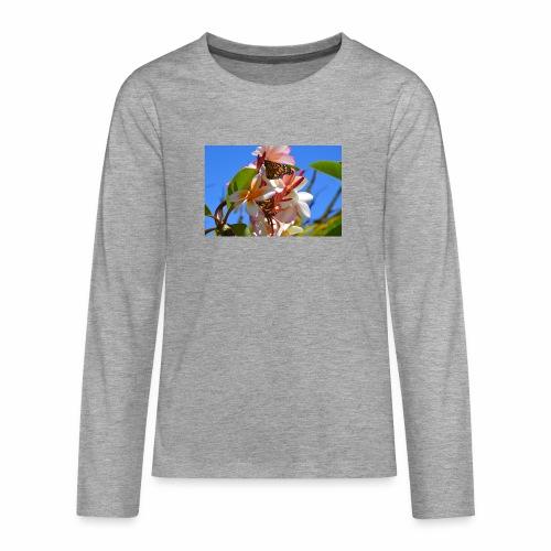 Schmetterling - Teenager Premium Langarmshirt
