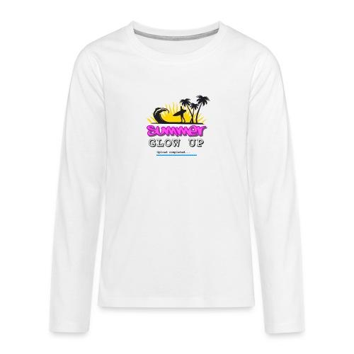 Summer Glow Up - Teenager Premium Langarmshirt