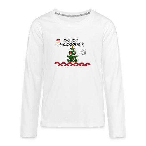 CHRISTMAS - Camiseta de manga larga premium adolescente