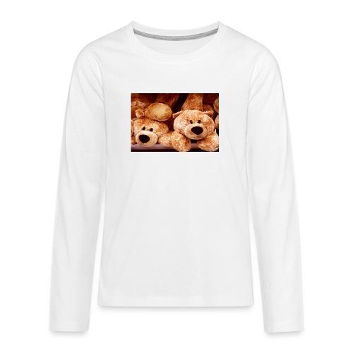 Glücksbären - Teenager Premium Langarmshirt