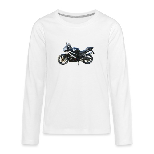snm daelim roadwin r side png - Teenager Premium Langarmshirt