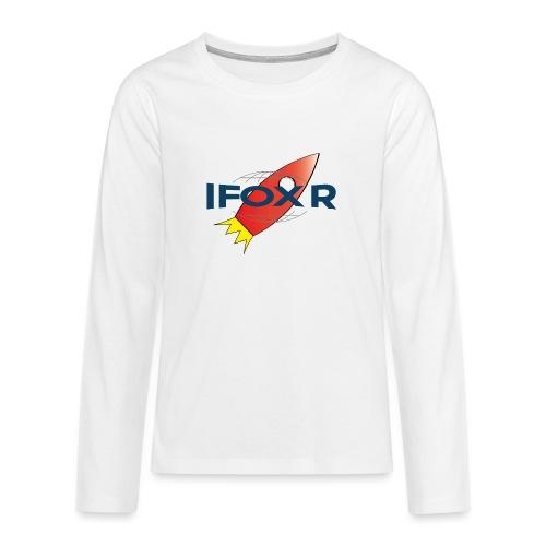 IFOX ROCKET - Långärmad premium T-shirt tonåring