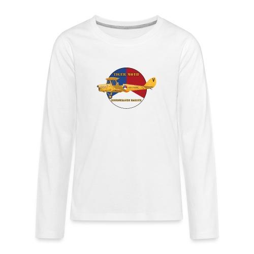 Tiger Moth Kon Marine - T-shirt manches longues Premium Ado